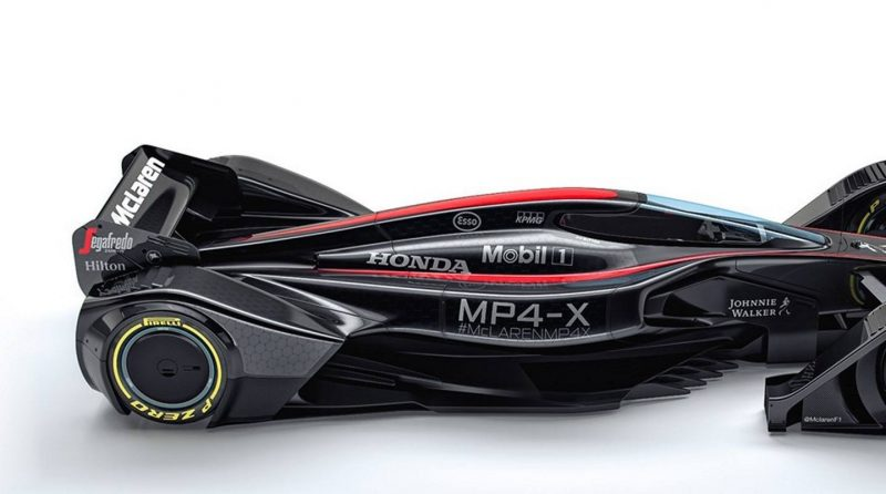 McLaren MP4-X 13