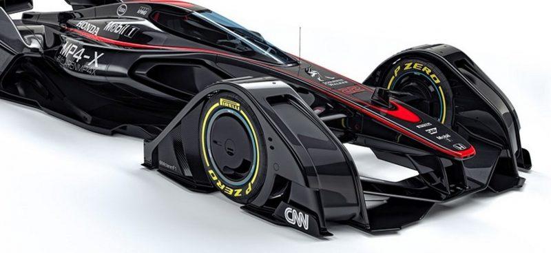 McLaren MP4-X  16