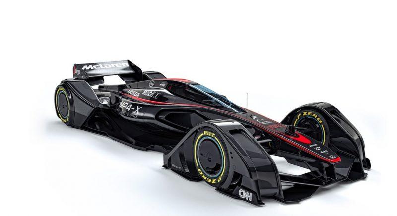 McLaren MP4-X 17