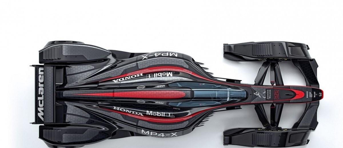 mclaren mp4 x detailed fascinating 2025 f1 car prototype re imagines everything. Black Bedroom Furniture Sets. Home Design Ideas