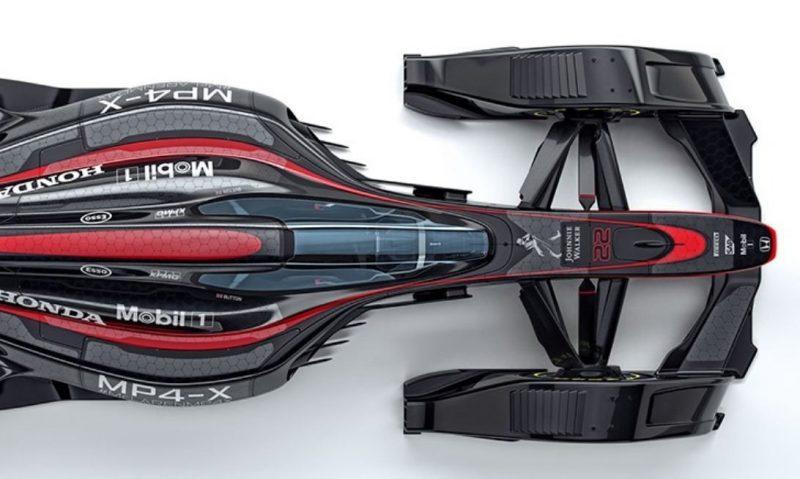 McLaren MP4-X  21