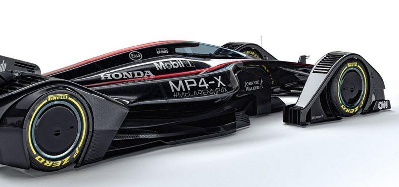 McLaren MP4-X  28