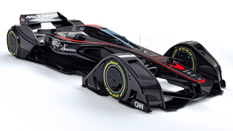 McLaren MP4-X 9
