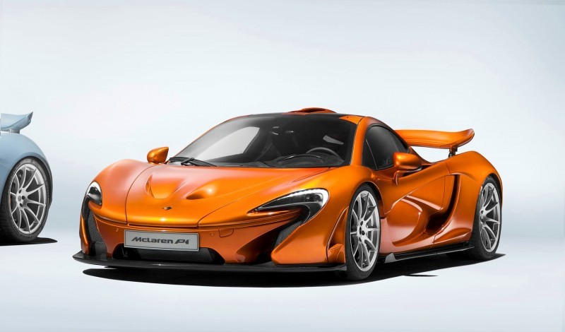 McLaren Wraps P1 Production 2