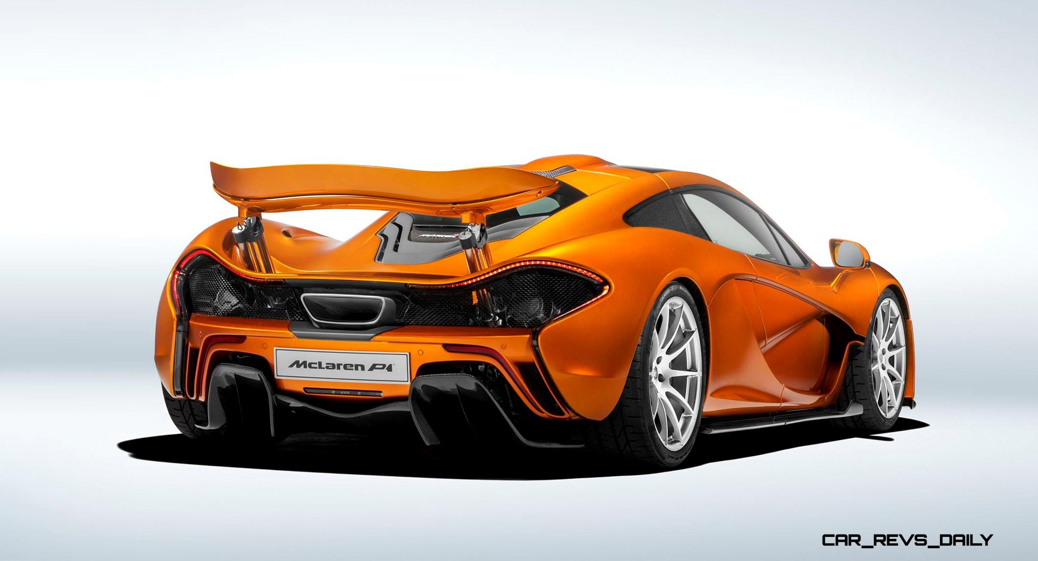 McLaren Wraps P1 Production with Painted Stunner MSO Now Creating