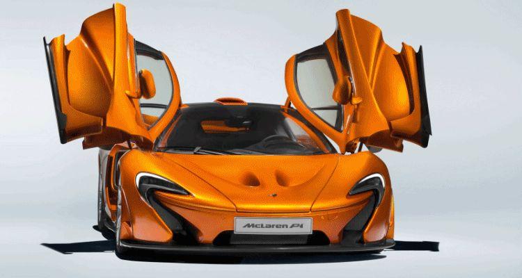 McLaren Wraps P1 Production