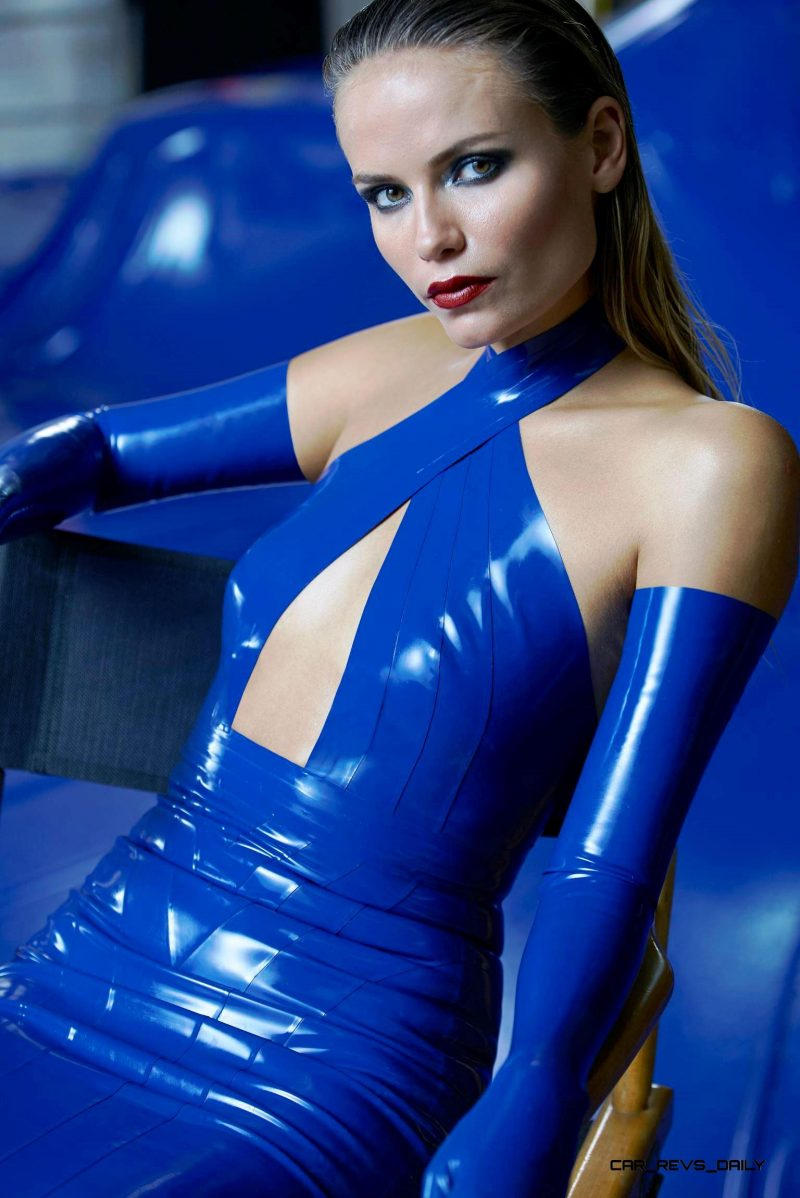 Mercedes Latex Fashion Shoot 10