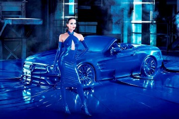 Mercedes Latex Fashion Shoot 12