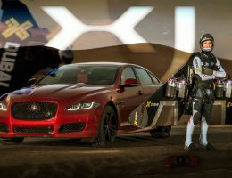 JOTA is Back in HUNT!  2016 Jaguar XJR Dragraces JetMan Dubai