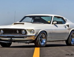 Mecum 2016 Musclecars – 1969 Ford Mustang BOSS 429 Fastback in Wimbledon White