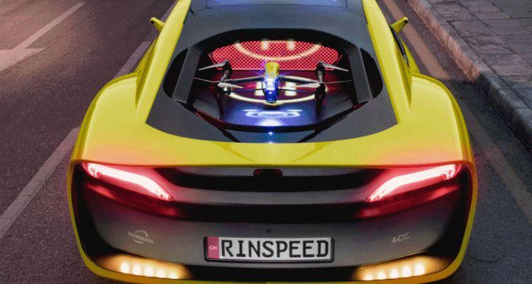 Rinspeed ETOS Gorilla LED landing pad