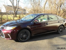Road Test Review – 2016 Toyota AVALON Touring