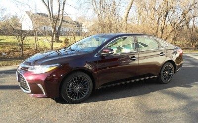 Road Test Review - 2016 Toyota AVALON Touring 15