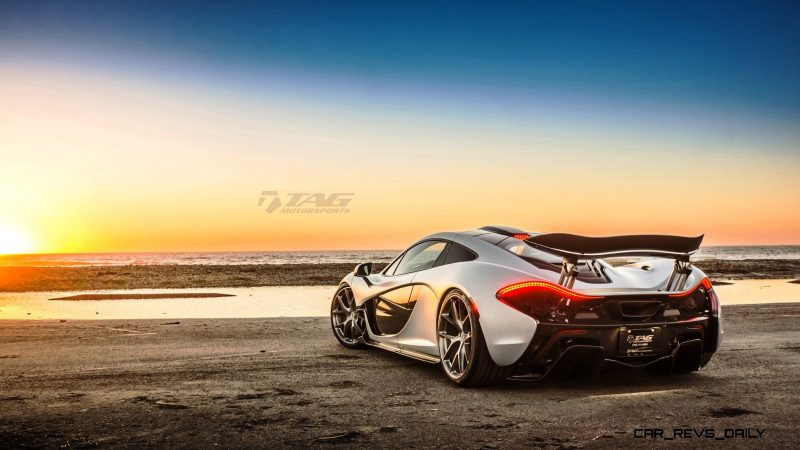 TAG Motorsports 2015 McLaren P1 HRE P101 Alloys 21