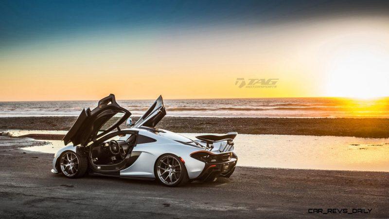 TAG Motorsports 2015 McLaren P1 HRE P101 Alloys 6