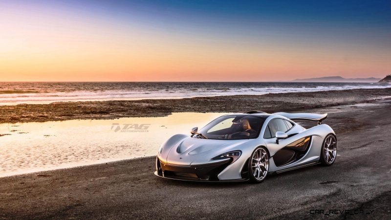 TAG Motorsports 2015 McLaren P1 HRE P101 Alloys 8