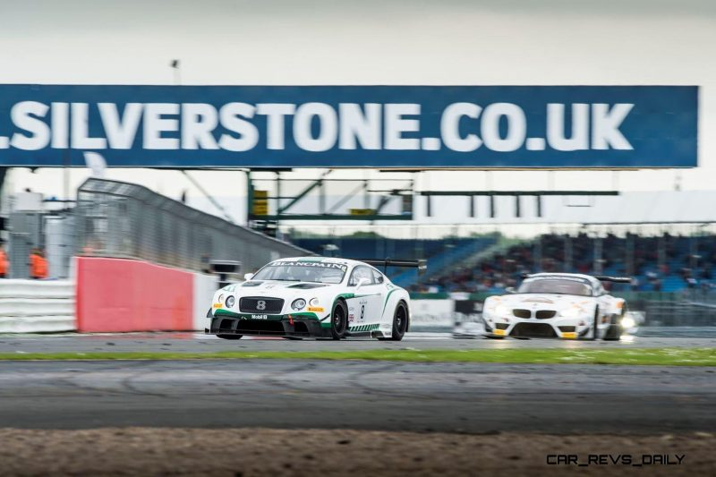Top ten finishes for Bentley at Silverstone(1)