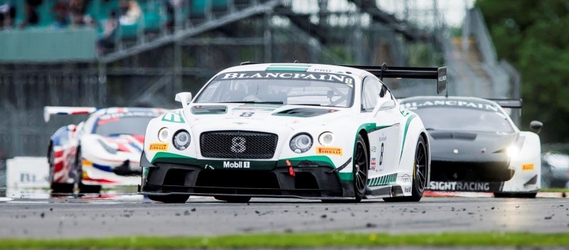 Top ten finishes for Bentley at Silverstone(2)