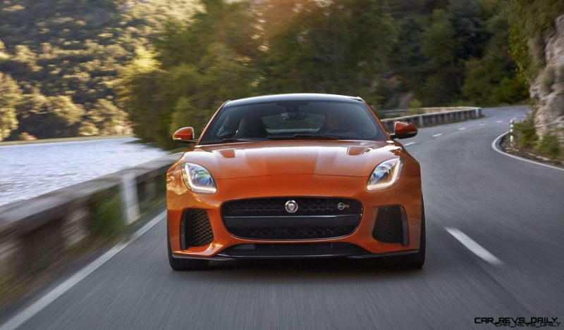 2017 Jaguar F-TYPE SVR 12