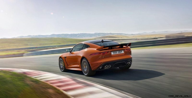 2017 Jaguar F-TYPE SVR 18