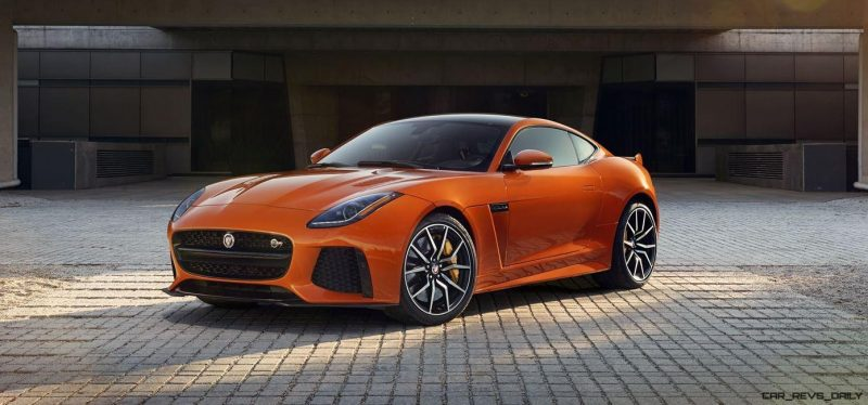 2017 Jaguar F-TYPE SVR 4