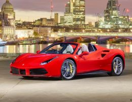 2016 Ferrari 488 Spider – London Launch Party + V8TT Sound Samples