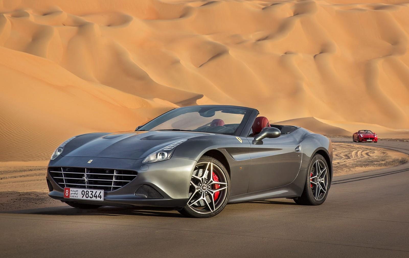 2016 Ferrari California T Deserto Rosso Car Revs Daily Com