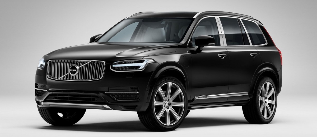 geneva debuts 2016 volvo xc90 excellence quad throne phev limo for davos crowd. Black Bedroom Furniture Sets. Home Design Ideas
