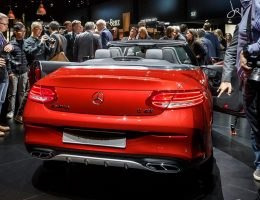 Update1 – 367HP 2017 Mercedes-Benz C43 Cabrio Leads Gorgeous New C-Class Convertible Line