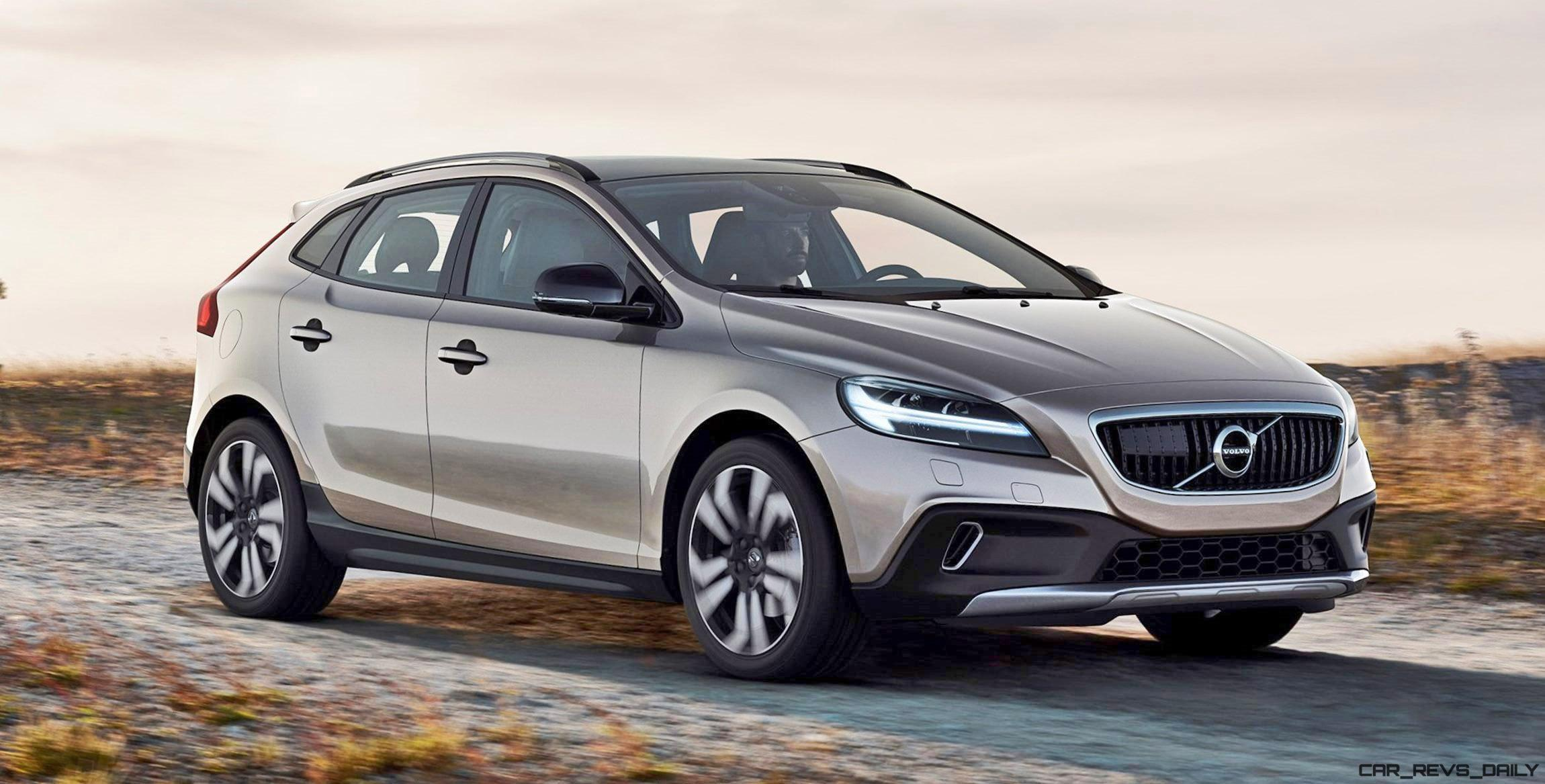 2017 Volvo V40 And V40 Cross Country Facelift Revealed