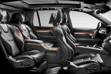 Geneva Debuts - 2016 Volvo XC90 EXCELLENCE - Quad-Throne PHEV Limo for Davos Crowd