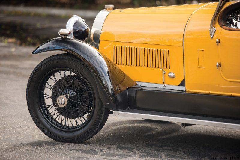 1925 Bugatti Type 30 Tourer  12