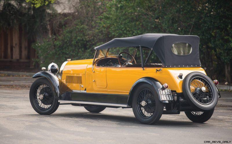1925 Bugatti Type 30 Tourer  2