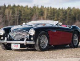 1956 Austin-Healey 100M Le Mans Speedster in Left Hand Drive
