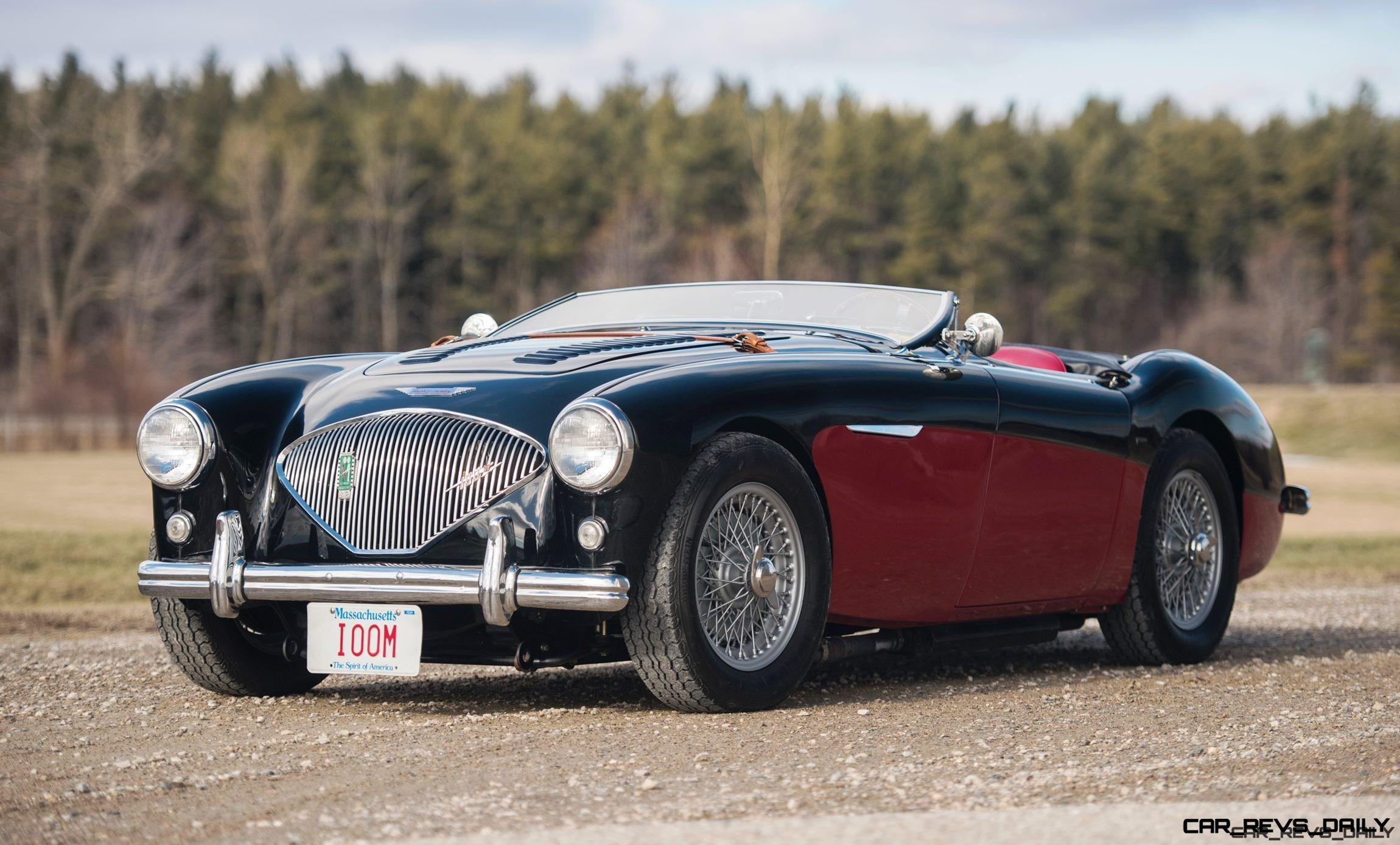 1956 Austin-Healey 100M Le Mans Speedster in Left Hand Drive 1