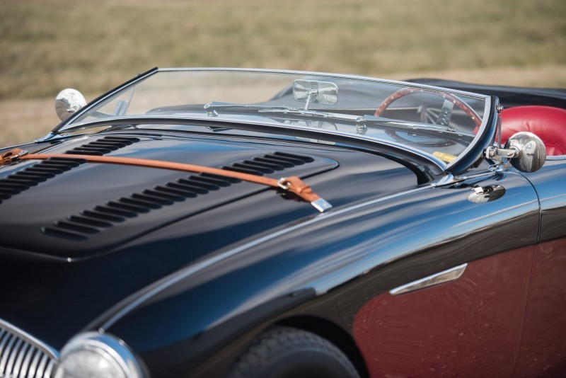 1956 Austin-Healey 100M Le Mans Speedster in Left Hand Drive 11