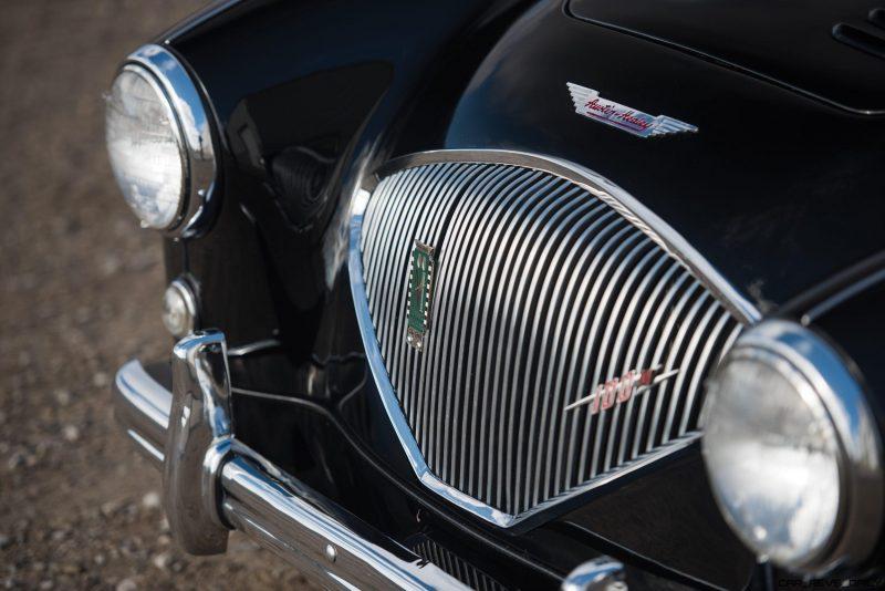 1956 Austin-Healey 100M Le Mans Speedster in Left Hand Drive 12