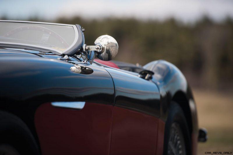 1956 Austin-Healey 100M Le Mans Speedster in Left Hand Drive 17