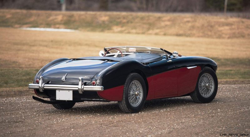 1956 Austin-Healey 100M Le Mans Speedster in Left Hand Drive 2