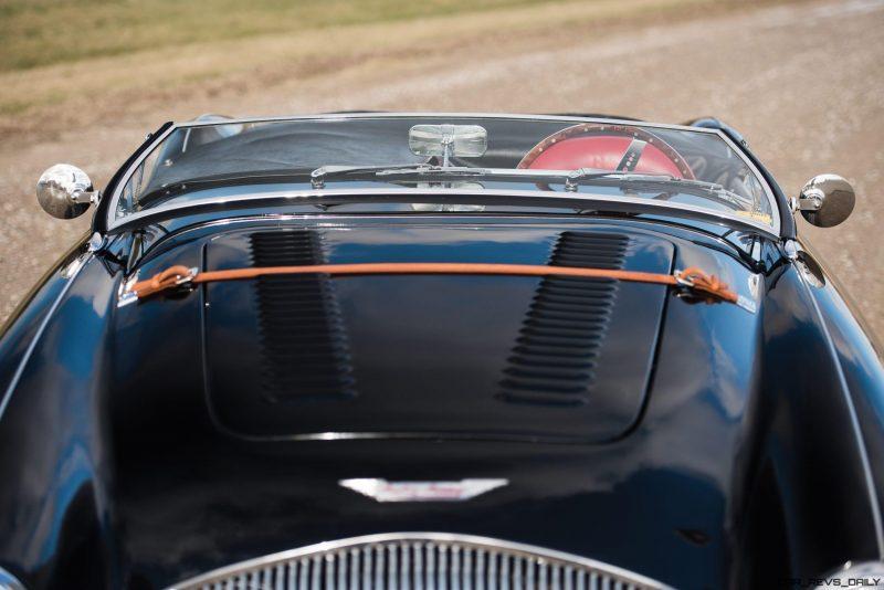 1956 Austin-Healey 100M Le Mans Speedster in Left Hand Drive 21