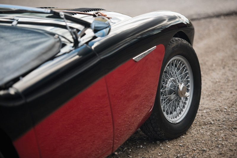 1956 Austin-Healey 100M Le Mans Speedster in Left Hand Drive 23