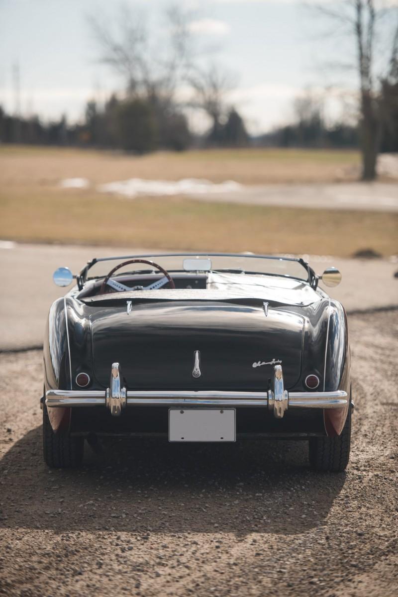 1956 Austin-Healey 100M Le Mans Speedster in Left Hand Drive 26