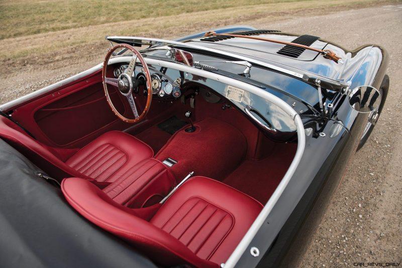 1956 Austin-Healey 100M Le Mans Speedster in Left Hand Drive 28