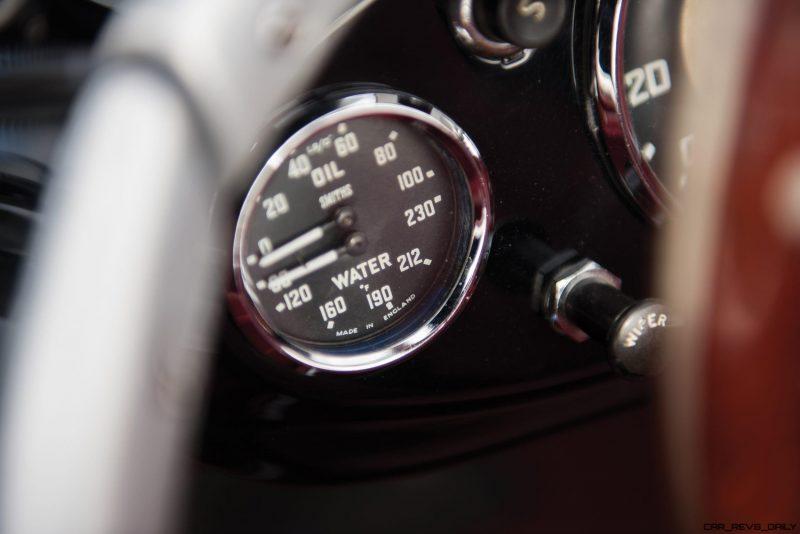 1956 Austin-Healey 100M Le Mans Speedster in Left Hand Drive 29