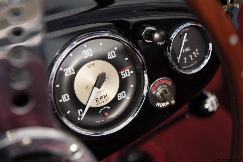 1956 Austin-Healey 100M Le Mans Speedster in Left Hand Drive 31