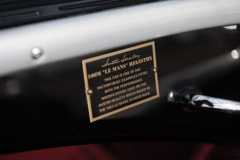1956 Austin-Healey 100M Le Mans Speedster in Left Hand Drive 32