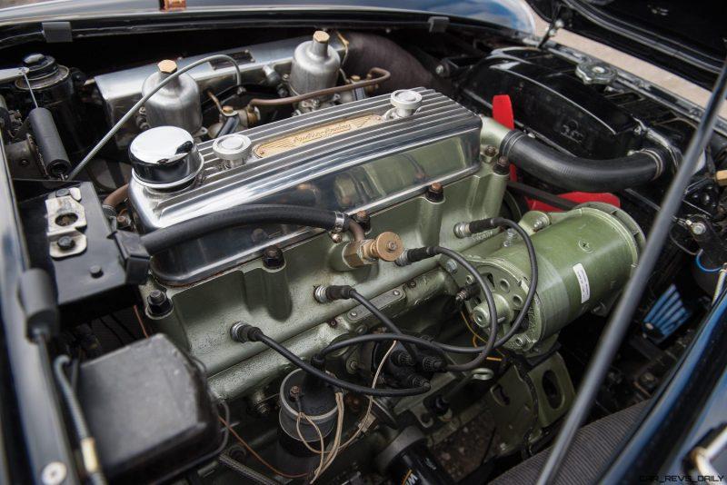 1956 Austin-Healey 100M Le Mans Speedster in Left Hand Drive 35