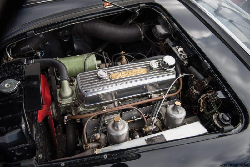 1956 Austin-Healey 100M Le Mans Speedster in Left Hand Drive 38