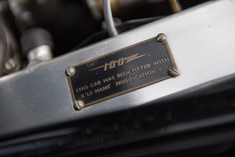 1956 Austin-Healey 100M Le Mans Speedster in Left Hand Drive 39
