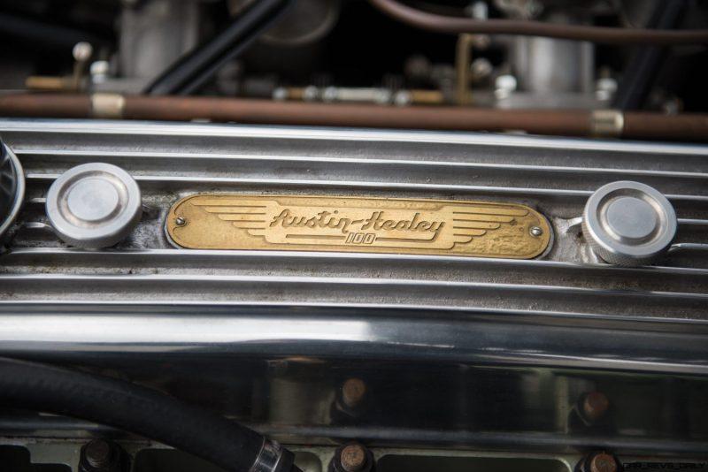 1956 Austin-Healey 100M Le Mans Speedster in Left Hand Drive 40